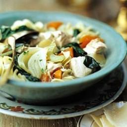 Winter Vegetable Chicken Stew