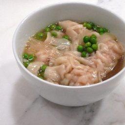 Won Ton Soup (Ground Chicken)