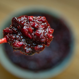 Wood Fired Blistered Cranberry Jalapeño Sauce