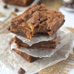 World's Best Caramel Brownies {aka Crack Brownies}