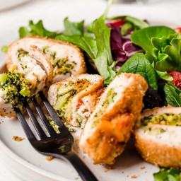 WW Chicken Roll Ups with Broccoli and Cheese