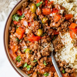 WW Crock Pot Picadillo