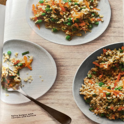 WW Spicy Bulgur with Carrots and Harissa