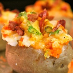 Yam Stuffed Taters