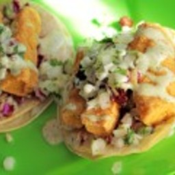 Yayo's Mahi Mahi Fish Tacos