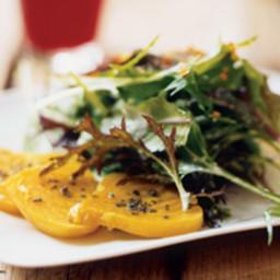 Yellow Beet and Asian Pear Salad