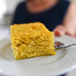 Yellow Squash Snack Cake