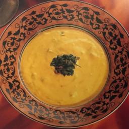 Yogurt and Chilli Soup