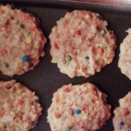 Yogurt and Granola Cookies