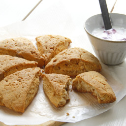 Yogurt Gives Scones Fluffy Form