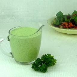 Yogurt Herb Dressing with Superfoods