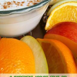 Yogurt Honey Fruit Dip