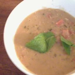 Yogurt Lentil Soup