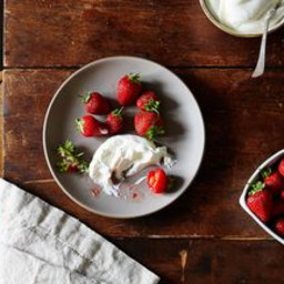 Yogurt Whipped Cream
