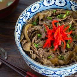 Yoshinoya Beef Bowl (Gyudon)