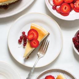 Yossy Arefi's Crème Fraîche Cheesecake