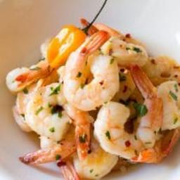 Yucatán Garlic Butter Shrimp