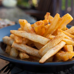 Yucca Fries with Southwest Fry Seasoning