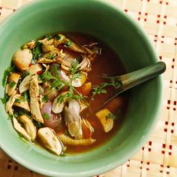 Yum Jin Gai (Spicy Northern Thai-Style Chicken Soup) Recipe