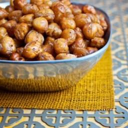 Zaatar Spiced Crispy Chickpeas