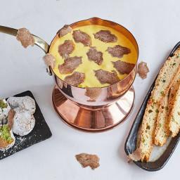 Zabaglione Recipe with Pistachio Biscotti