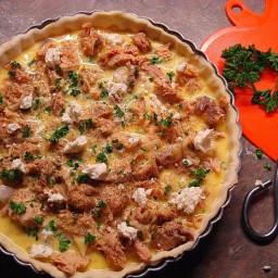 Zalmtaart (Dutch Salmon Pie)