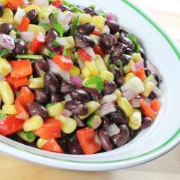 Zesty Black Bean & Corn Salad