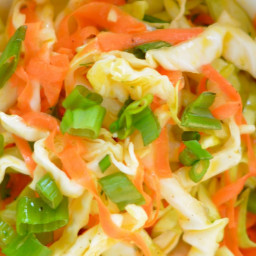 Zesty Cabbage and Carrot Citrus Slaw [Phase 1]