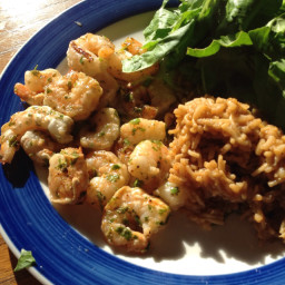 Zesty Garlic Herb Shrimp