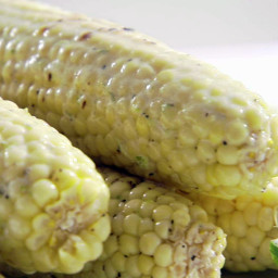 Zesty Grilled Corn on the Cob