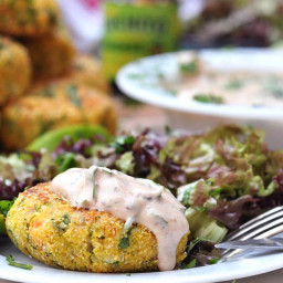 Zesty Salmon Fishcakes with Chilli Lime Yoghurt