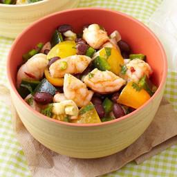 Zesty Shrimp and Black Bean Salad