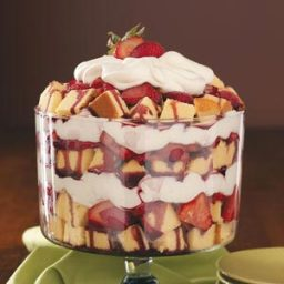 Zinfandel Strawberry Trifle