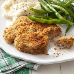 Zippy Breaded Pork Chops Recipe