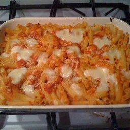 Ziti Baked with Ricotta Cheese