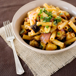 Ziti with Roasted Vegetables