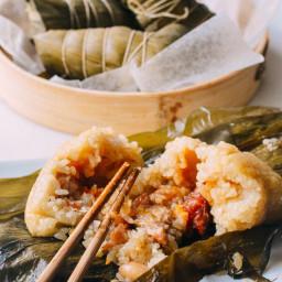 Zongzi Cantonese Style Rice Dumplings