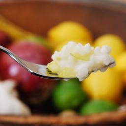 Zucchini and Gorgonzola Risotto