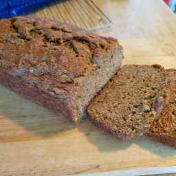 Zucchini Bread with Carrots and Raisins