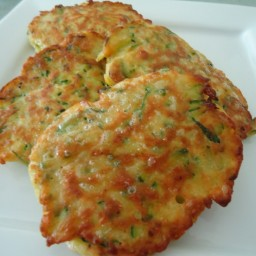 Zucchini Cakes/Crepes