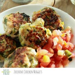 Zucchini Chicken Nuggets