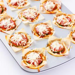 Zucchini Lasagna Cups
