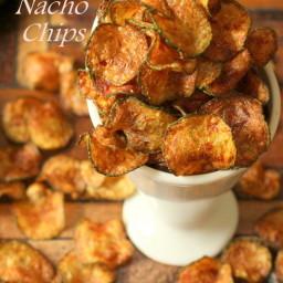 Zucchini Nacho Chips