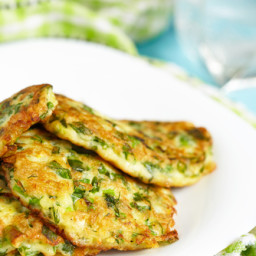 Zucchini Pancake Breakfast Stacks (Paleo)