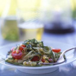 Zucchini, Tomato, and Corn Salad