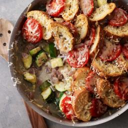 Zucchini-Tomato Strata