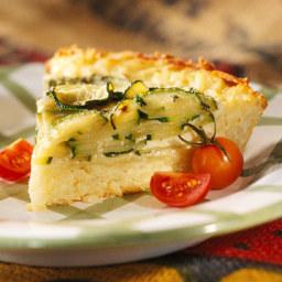 Zucchini and Swiss Pie