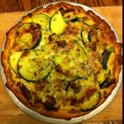 Zuchini Bacon Quiche