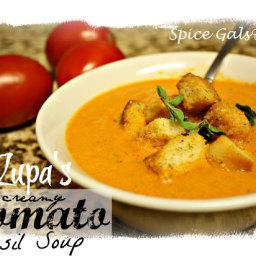 Zupa's Tomato Basil Soup