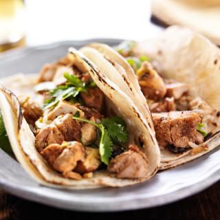 kickin chicken tacos